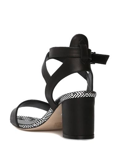 Bilekten Bağlamalı Kalın Topuklu Ayakkabı-Beymen Club